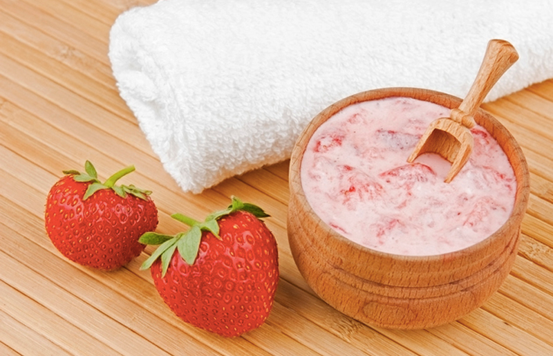 Image result for Strawberry and Oats Mask
