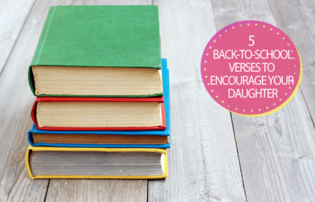 5 back to school verses