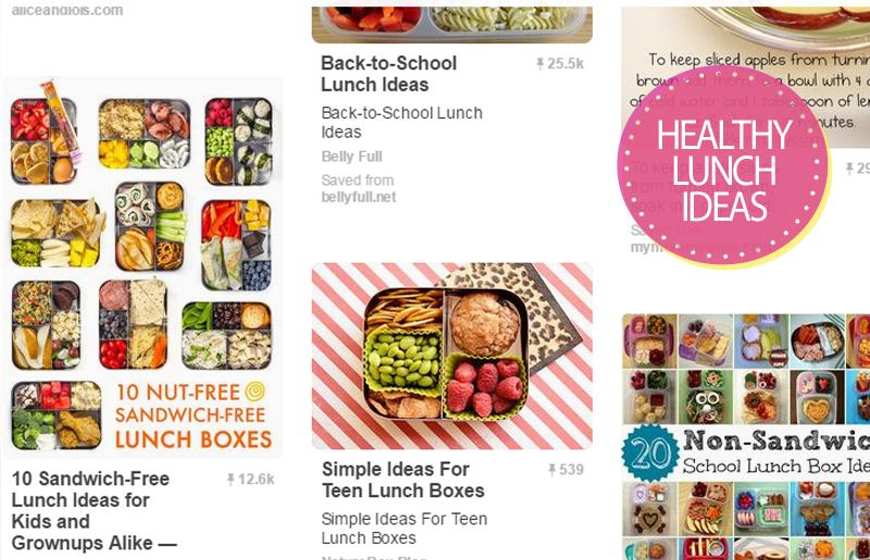 Healthy Lunch Ideas Blog