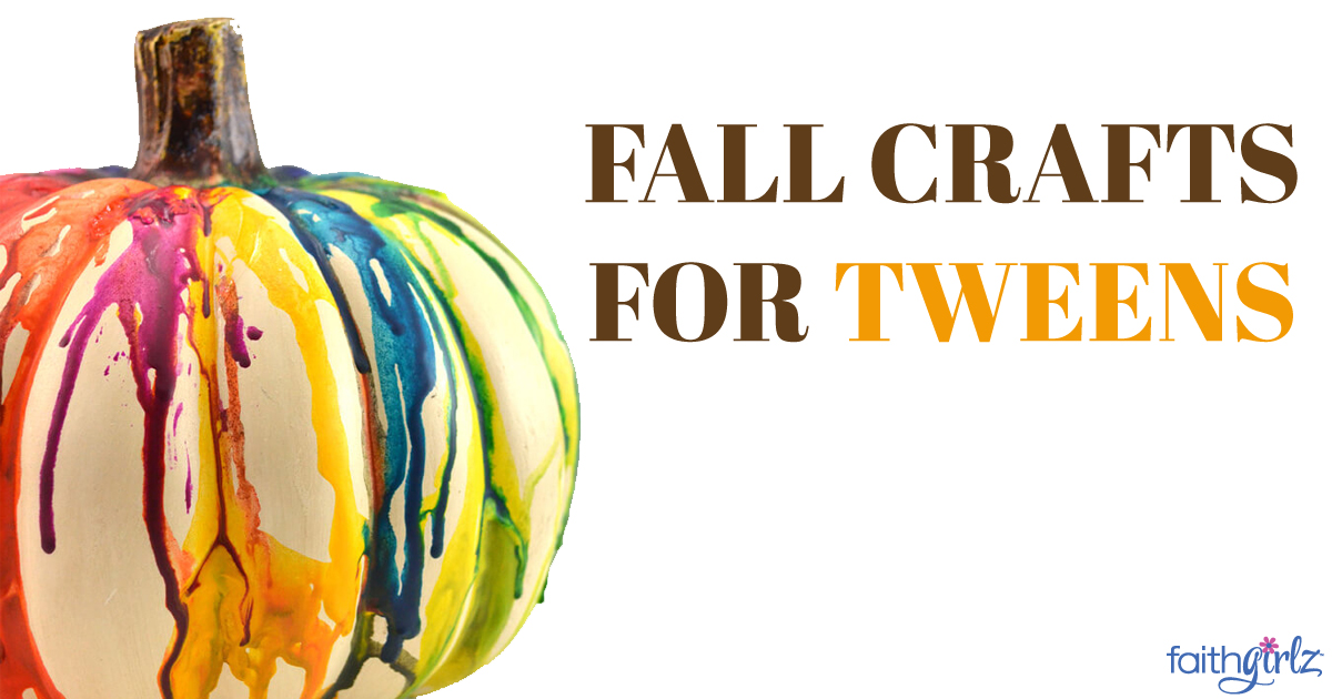 Fun Fall Crafts For Tweens